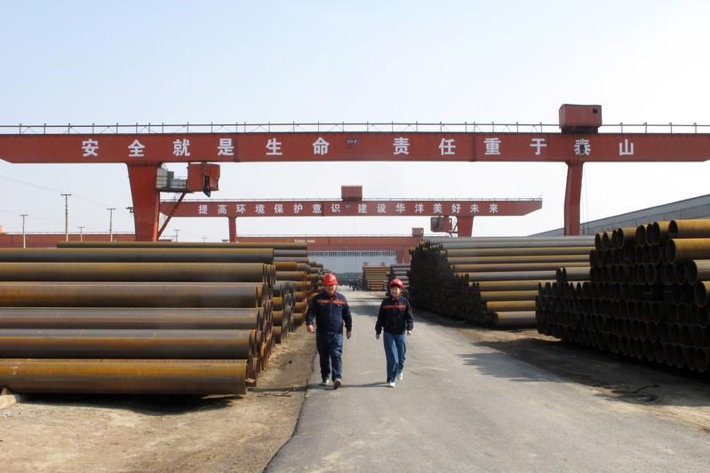 Sản lượng thép thô Trung Quốc vẫn đạt mức kỷ lục bất chấp chiến dịch môi trường